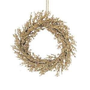 24 in. Gold Wreath