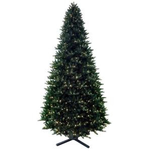 12 ft. Regal Fir Pre-Lit Artificial Christmas Tree with Dual Function LEDs