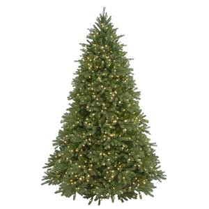 9 ft. Feel-Real Jersey Fraser Artificial Christmas Tree with 1500 Clear Lights