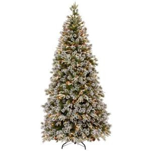 7.5 ft. Liberty Pine Medium Artificial Christmas Tree with Clear Lights