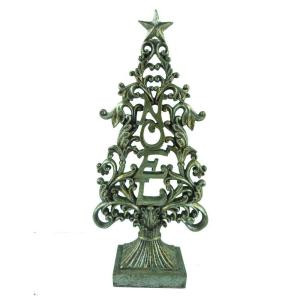 18 in. Polyresin Tree Tabletop Figurine