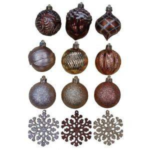 Merry Metallic 2 in. Christmas Ornaments (101-Pack)