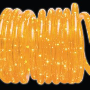 18 ft. 50-Light Gold Rope Light
