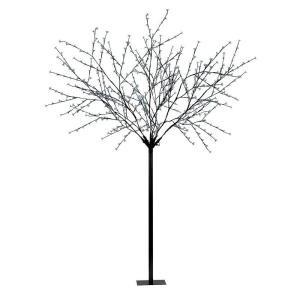 98.5 in. Black LED Tree Post Light