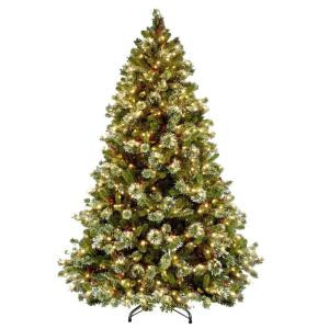 9 ft. Wintry Pine Artificial Christmas Tree with Clear Lights