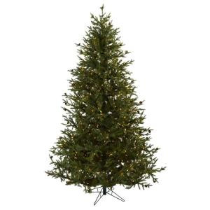 7.5 ft. Classic Pine and Pine Cone Artifiicial Christmas Tree