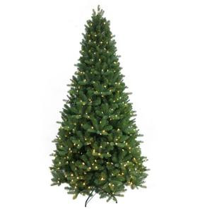 9 ft. Mt Everest Spruce Pre-Lit Artificial Christmas Tree with Dual Function LEDs