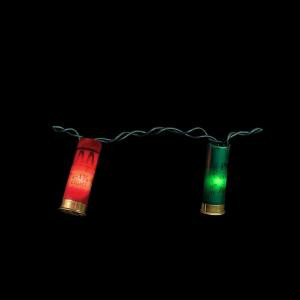 20-Light Jingle Bells Shotgun Shells Light Set