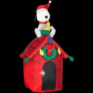 4 ft. Airblown Lighted Snoopy