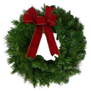 20 in. Artificial Wreaths (6-Pack)