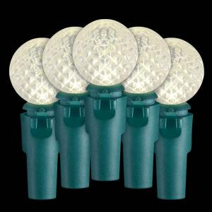 9.4 ft. 30-Light LED Warm White Battery-Operated Light Set
