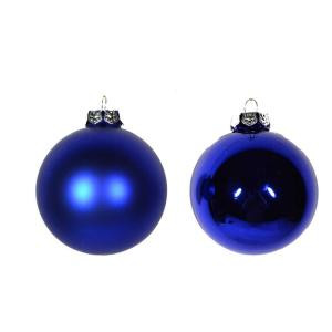 67 mm Christmas Tree Trim Ornament in Blue (Set of 18)