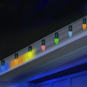 15-Light C7 LED Multi-Color Amazing Chasing Lights