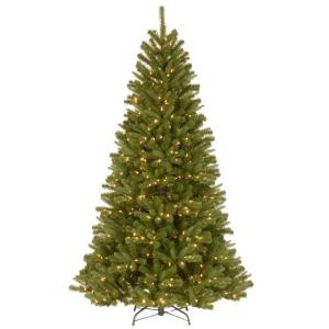 7.5 ft. North Valley Spruce Artificial Christmas Tree with Clear Lights
