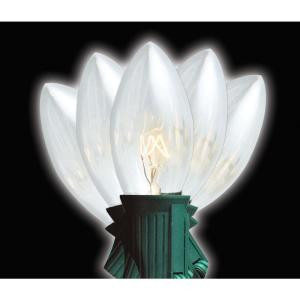 C9 Clear Replacement Bulbs (8-Pack)