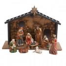 Porcelain Nativity Set (10-Piece)