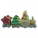 5.25 in. Gingerbread Train Tabletop Decoration