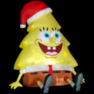 4 ft. Airblown Inflatable Lighted Sponge Bob