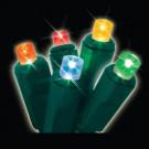60-Light LED Multi-Colored Micro Mini Twinkling Light Set
