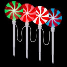 Lollipop Pathway Stake (Set of 4)