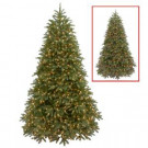 9 ft. Jersey Fraser Fir Medium Artificial Christmas Tree with Dual Color LED Lights