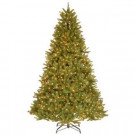 9 ft. Feel-Real Grande Fir Hinged Artificial Christmas Tree with 900 Ready-Lit Clear Lights