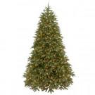 9 ft. Jersey Fraser Fir Medium Artificial Christmas Tree with Clear Lights