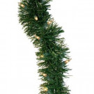 36 ft. Pre-Lit Holiday Classics Garland with Clear Lights