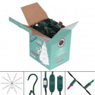 Multi-Strand Design Whole-Tree Kit with 750 Multi-Color Lights and 9 ft. , 9 Outlet Cord