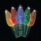 C7 100-Light Faceted LED Multi-Colored Light Set