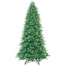 9 ft. Pre-Lit Just Cut Fraser Fir Artificial Christmas Tree with Clear Lights