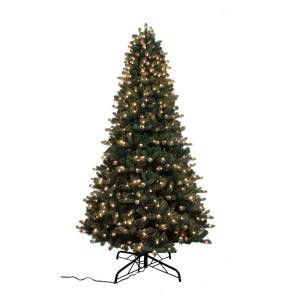 9 ft. Pre-Lit LED Multi-Function Artificial Christmas Tree with 700 Lights