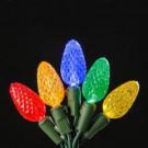 150-Light LED Multi-Colors C6 Light Set in Spool