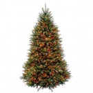 7.5 ft. Dunhill Fir Artificial Christmas Tree with Multi-Color LED Light