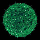 Holiday Classic 100-Light Green Super Sphere Light