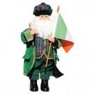 15 in. Irish Santa