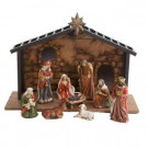 Porcelain Nativity Set (10-Piece)