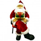 6 ft. Deluxe Traditional Life Size Sitting Santa