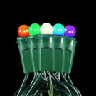 50-Light Multi-Color Mini Smooth Globe Light Set