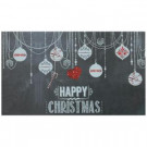 Elegant Entry Chalkboard Ornament 17 in. x 29 in. Door Mat