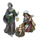 Polyresin Holy Family Nativity Set (Set of 3)