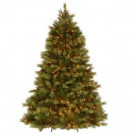 7.5 ft. White Pine Artificial Christmas Tree with Clear Lights