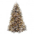 8 ft. Dunhill Fir Artificial Christmas Tree with Clear Lights