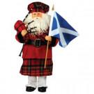 15 in. Scottish Santa