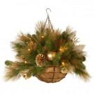 30 in. Decorative Collection Elegance Hanging Basket