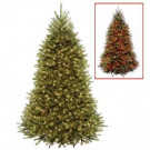 6 ft. Dunhill Fir Artificial Christmas Tree with Dual Color LED Lights
