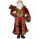 4 ft. Santa in Red and Gold