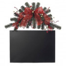 18 in. Metal Holiday Greeter Chalkboard