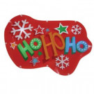 """Battery-Operated 16 in. """"HoHoHo"""" LED Light Show Sign"""