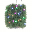 18 ft. LED Pre-Lit Roping Garland with Clear and Multi-Color C6 Lights